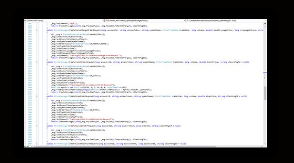 cTrader OPEN API